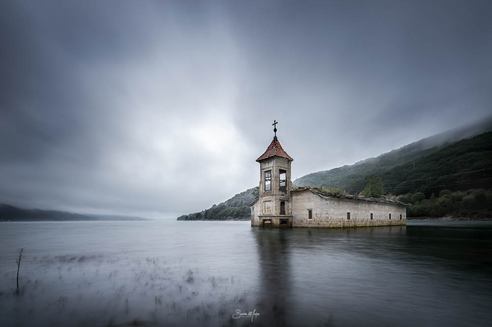 The church under water